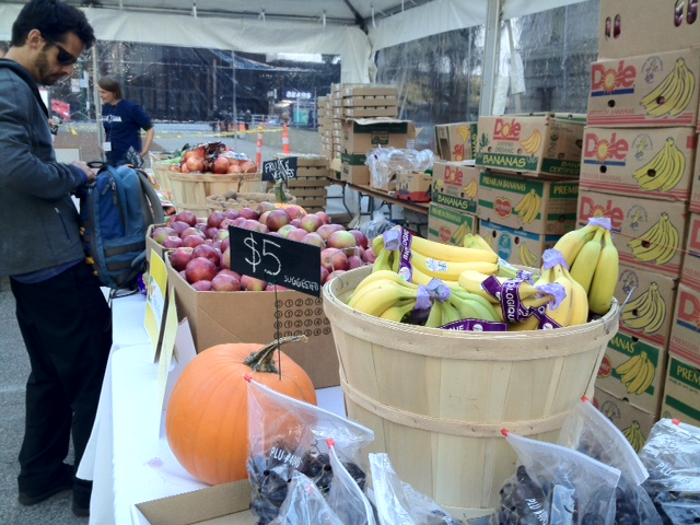 Vancouver Food Bank Fundraiser  - Organic produce
