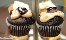 chocolate wine cupcake