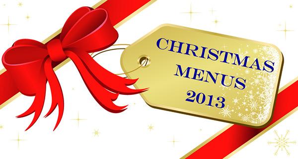 Christmas Menus 2013