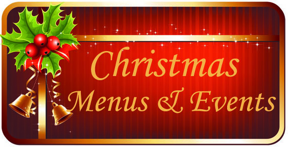Christmas menu & events 2013