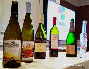 quini wine tasting event