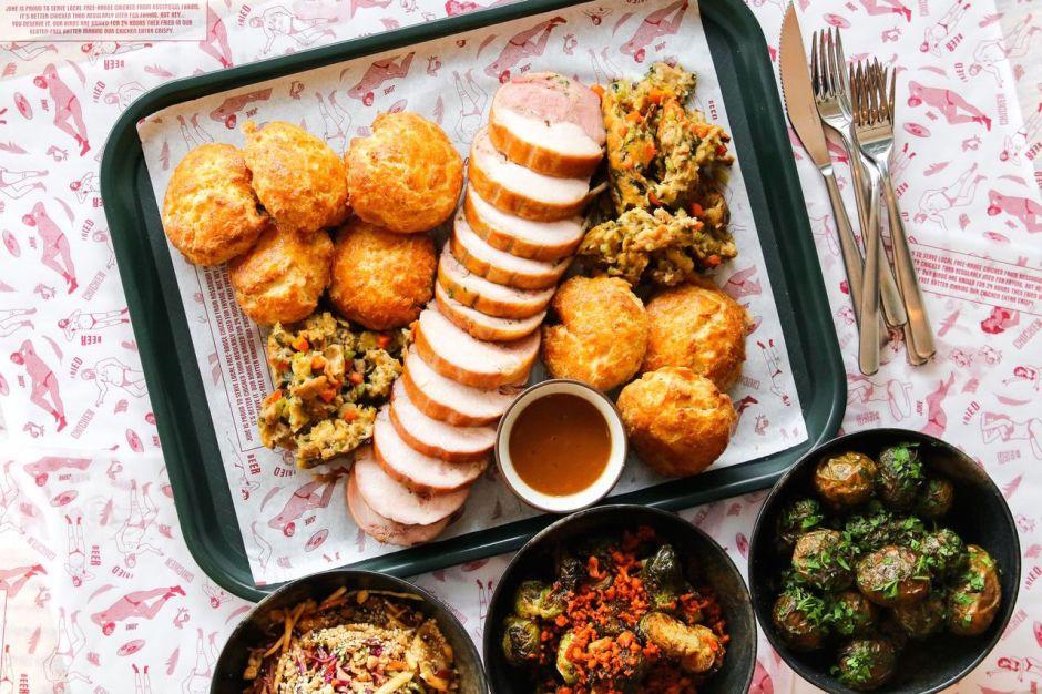 juke fried chicken hosts turducken feast food persuasion. Black Bedroom Furniture Sets. Home Design Ideas
